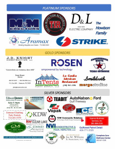 2015 Care Bag letters with sponsors